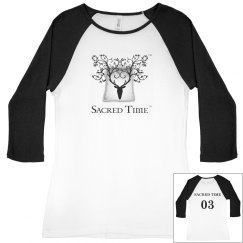 Sacred Time Baseball Tee