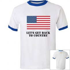 Back to Country Ringer T-Shirt