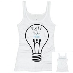 Light It Up Blue Tank