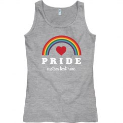 Rainbow Gay Pride Custom Tank