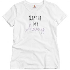 Nap The Day Away Cute Mom