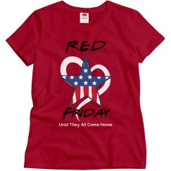RED Friday Star Heart
