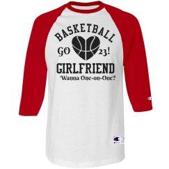 Trendy Basketball Girlfriend Custom Sports Jersey