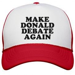 Make Trump Debate Again