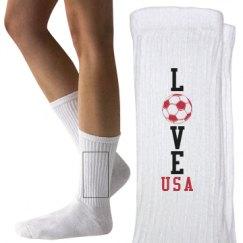 Youth Hanes Crew Socks