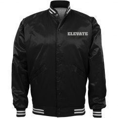ELEVATE BOMBER BASEBALL JACKET