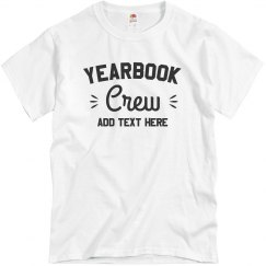 Yearbook Crew Add Year