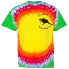 Martians madness tye-dye t-shirt