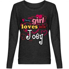 This girl loves Joey!