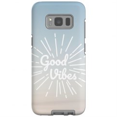 Good Vibes Galaxy Phone Case