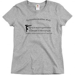 Gymnastic problem tshirt