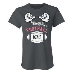 Lady Football Fan