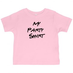 Toddler Party Shirt