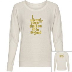 Mischief Managed Ladies Long Sleeve
