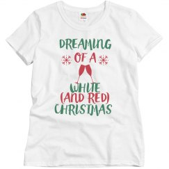Dreaming of a White and Red Christmas