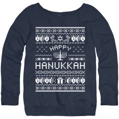 Fun Hanukkah Ugly Sweater