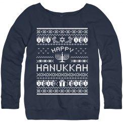 Fun Hanukkah Ugly Sweater