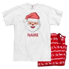 Custom Name Christmas Pajamas
