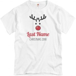 Christmas Custom Reindeer Pajamas