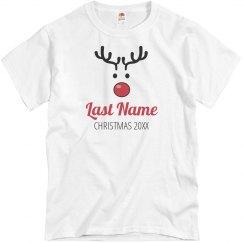 Christmas Custom Reindeer Pajamas