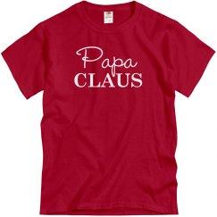 Papa Claus Matching Christmas PJs