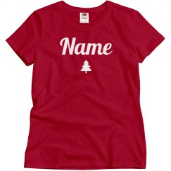 Custom Name Group Christmas Pajamas
