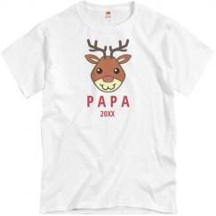 Rudolph Family Pajamas Dad