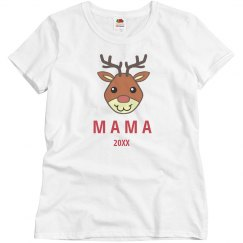 Rudolph Family Pajamas Mom