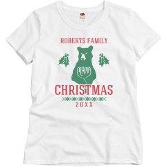 Mama Xmas Bear Pajamas