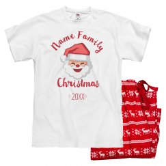 Matching Family Santa Jammies For Mom