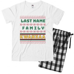 Youth Custom Family Kwanzaa Jammies
