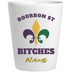 Mardi Gras Bourbon Shot 1