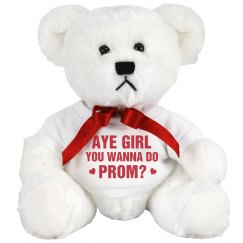Funny Promposal Prom Bear Gift