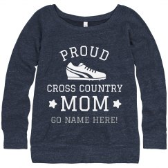Custom Proud Cross Country Mom