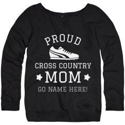 Custom Proud Cross Country Mom