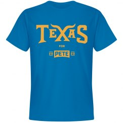 Texas for Pete - Royal Blue