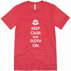 Keep Calm Sloth On