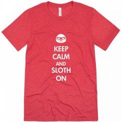 Keep Calm Sloth On
