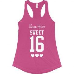 Sweet Sixteen Tank