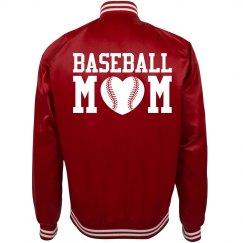Trendy Baseball Mom Bomber