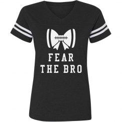 Fear The Bro Football Bow