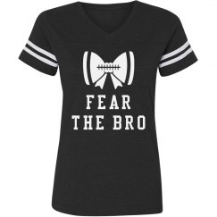 Fear The Bro Football Bow