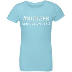 Kids Custom Hashtag Designs