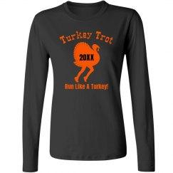 Funny Turkey Trot Runner