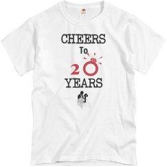 Cheer to 20 years