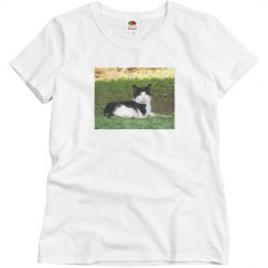 Womans Cat Tee