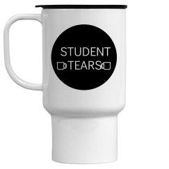 Student tears mug