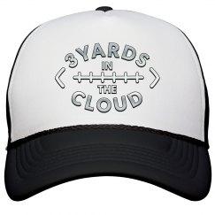 3 Yards in the Cloud trucker hat
