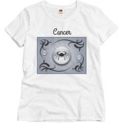 Cancer Zodiac Sun Sign T-shirt