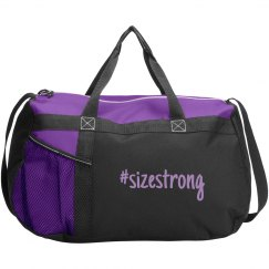 Size Strong Athletic Bag